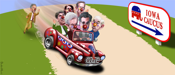 Iowa Clown Car