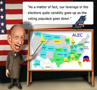 Daily Kos: ALEC Faces Funding Crisis & possible Lobbying Violations