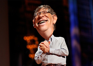 Bill Gates defeated while installing Windows 8.1. The Sage News - SNN