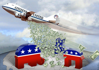 Republicans make big advances thanks to Citizens United