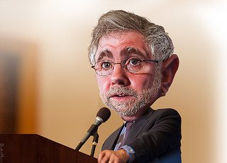 The New York Times' Krugman Sees Obama As A Victim Of Unfair Press