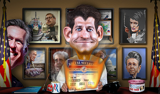 Paul Ryan's American Idea is Mad Libs with a thesaurus full of conservative lies | Jeb Lund | Comment is free | theguardian.com