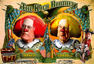 BREAKING: New York Times Mentions Koch Brothers in Editorial, Forgets to Call Them 'Evil' | Washington Free Beacon