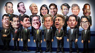 Here's the Dream Team Participating in Thursday's Republican Presidential Debate | VICE | United States