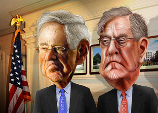 Even One of the Koch Brothers Thinks We Need To End Corporate Welfare - In These Times