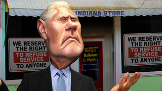 Mike Pence is too cowardly to defend his anti-gay law. He should be that ashamed | Comment is free | The Guardian