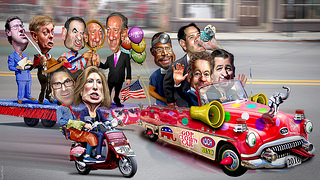 The 2016 GOP Primary Clown Car Arrives, Releases a Flood of Lunatics and Embarrassments – Part 1 | The Progressive Cynic