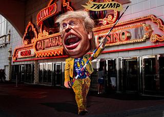 Trump is a joke, but a serious joke.