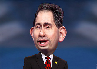 And he cares why? Scott Walker accused of fudging key details in 'Reagan family Bible' story | UK Progressive